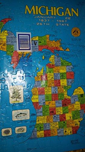 9780871065605: Michigan-Puzzle 20x16