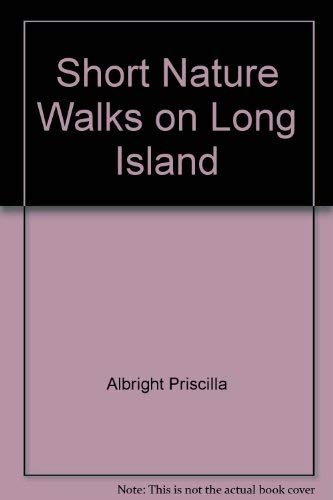 9780871066756: Short nature walks on Long Island