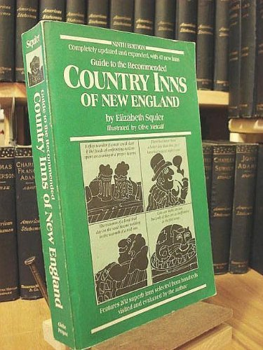 9780871068675: Guide to the Recommended Country Inns of New England