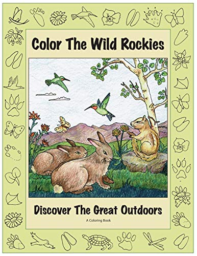 9780871083012: Color the Wild Rockies: Discover the Great Outdoors (The Pruett Series)
