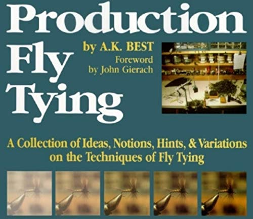 9780871087928: Production Fly Tying: A Collection of Ideas, Notions, Hints, & Variations on the Techniques of Fly Tying