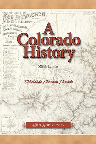 9780871089427: A Colorado History (The Pruett Series)