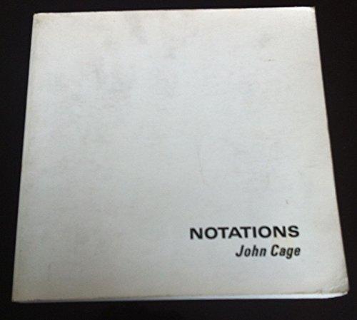 Notations: Cage, John - Editor