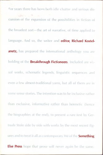 9780871100870: Breakthrough fictioneers;: An anthology