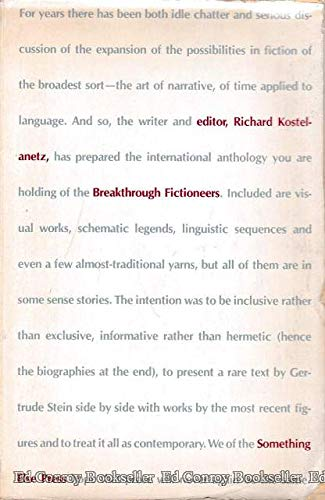 9780871100887: Breakthrough fictioneers;: An anthology