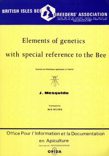 9780871113313: Elements of genetics with special reference to the bee