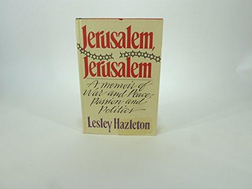 9780871130648: Jerusalem Jerusalem
