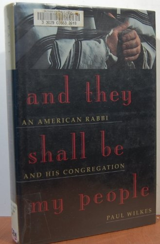 9780871135612: And They Shall Be My People: An American Rabbi and His Congregation