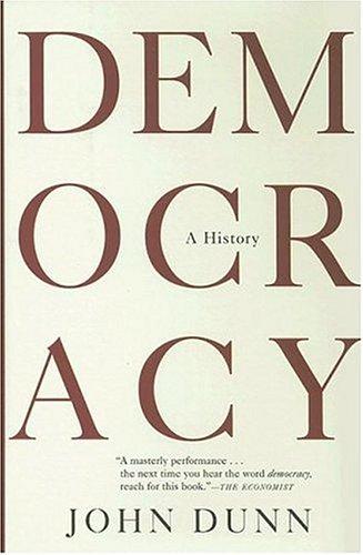 9780871139313: Democracy: A History