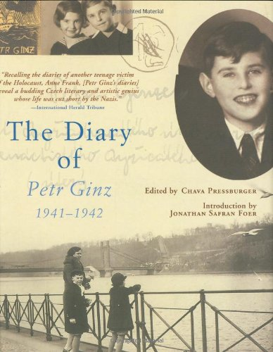 9780871139665: The Diary of Petr Ginz: 1941-1942