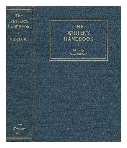 9780871161062: The Writer's Handbook