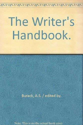 9780871161192: The Writer's Handbook.