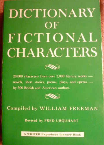 9780871161475: Dictionary of Fictional Characters