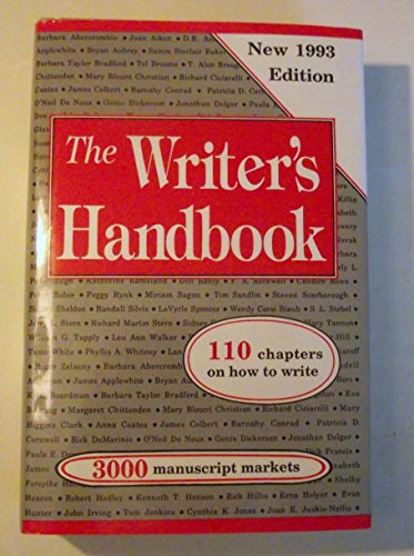 9780871161673: The Writer's Handbook: 110 Chapters on How to Write (1993 Ediiton)