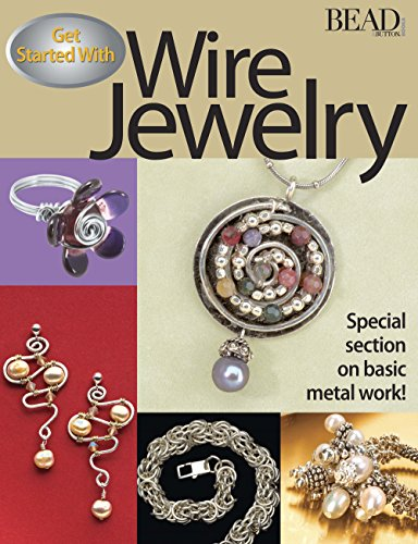 9780871162342: Get Started with Wire Jewlery (Bead & Button Books)