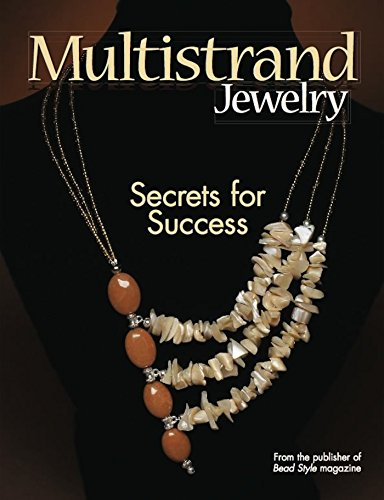 "Multistrand Jewelry 9780871164513 Multistrand pieces can be confusing and difficult pieces to create at times in comes Multistrand Jewelry. From the pages of Bead Style magazine, this book answers questions from readers about multistrand pieces and its challenges. We provide 26 projects with in-depth instruction, clearly detailing the steps for successfully creating multistrand bracelets and necklaces, using a wide range of materials. In addition, each project features a Secret of Success"" from the designer or editor for multistrand techniques."