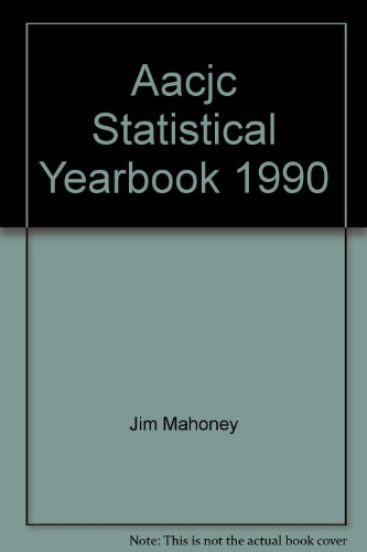 9780871172075: Aacjc Statistical Yearbook, 1990