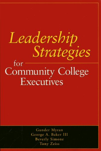 9780871173478: Leadership Strategies for Community College Executives
