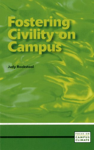 9780871173799: Fostering Civility on Campus