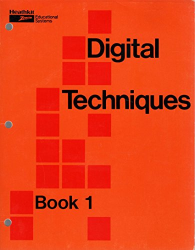 DIGITAL TECHNIQUES: Books 1 & 2: Heath Company (Heathkit)