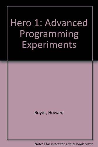 9780871190369: Hero 1: Advanced Programming Experiments