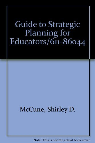 9780871201409: Guide to Strategic Planning for Educators