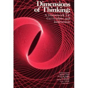 9780871201485: Dimensions of Thinking: A Framework for Curriculum and Instruction
