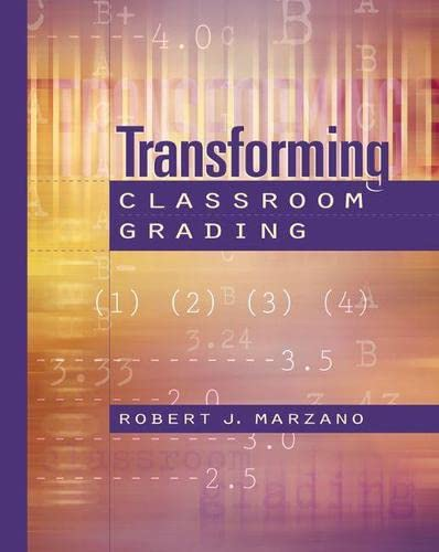 9780871203830: Transforming Classroom Grading