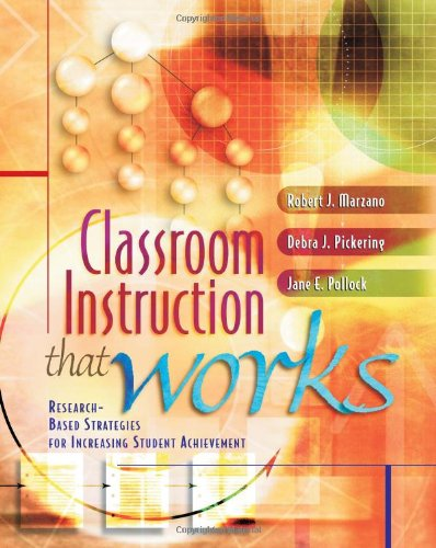 9780871205049: Classroom Instruction That Works: Research-Based Strategies for Increasing Student Achievement