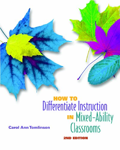 9780871205124: How to Differentiate Instruction in Mixed-Ability Classrooms, 2nd Edition (Professional Development)