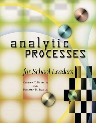 9780871205162: Analytic Processes for School Leaders