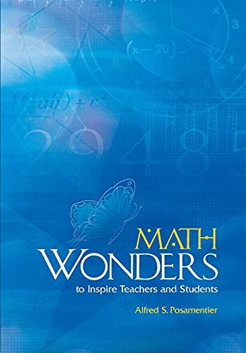 9780871207753: Math Wonders to Inspire Teachers and Students