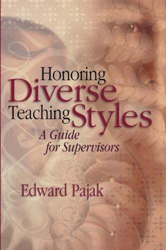 9780871207760: Honoring Diverse Teaching Styles: A Guide for Supervisors
