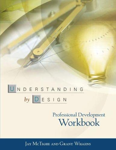 9780871208552: Understanding by Design: Professional Development Workbook