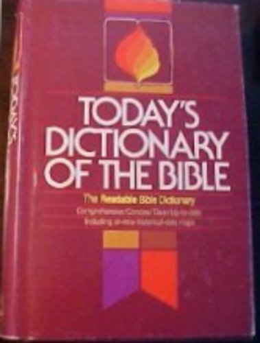 9780871235695: Today's Dictionary of the Bible