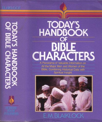 9780871239488: Today's Handbook of Bible Characters