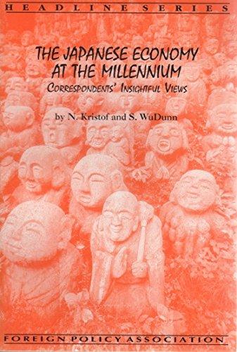 9780871241917: The Japanese economy at the millennium: Correspondents' insightful views (Headline series)
