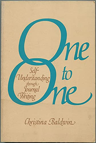 9780871312945: One to One, Self-Understanding Through Journal Writing