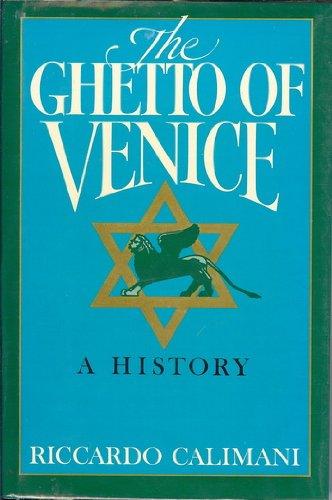 9780871314840: Ghetto of Venice (English and Italian Edition)