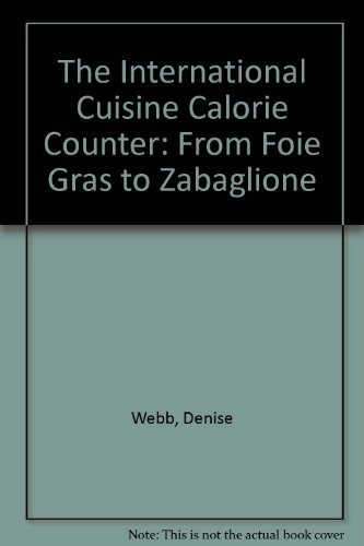 The International Cuisines Calorie Counter