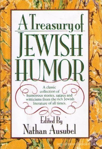 9780871318626: A Treasury of Jewish Humor