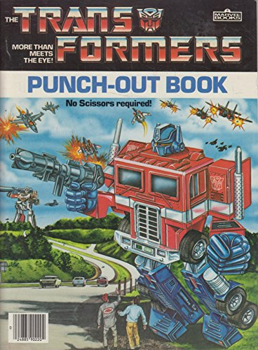 9780871350770: The Transformers Punch-Out Book