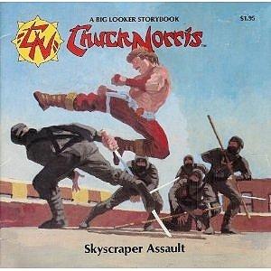 9780871351326: Skyscraper Assault (Chuck Norris and the Karate Kommandos)