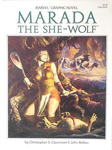 9780871351531: Marada the She-Wolf (Marvel Graphic Novel)