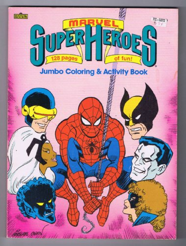 9780871352873: Marvel Super Heroes (Jumbo Coloring & Activity Book)