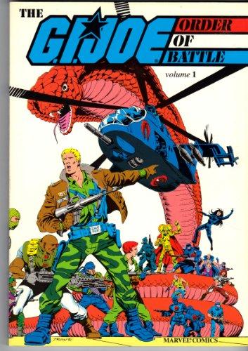 9780871352880: G. I. Joe: Order of Battle (Marvel Comics)