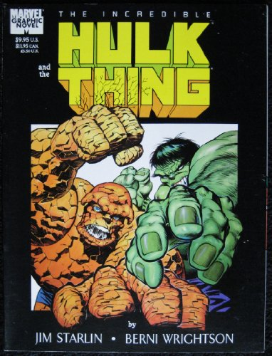 9780871352996: Incredible Hulk and the Thing: Big Change (Stan Lee Presents : a Marvel Graphic Novel)