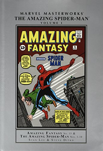 9780871353054: Marvel Masterworks: Amazing Fantasy #15 + Amazing Spider-man #1-10