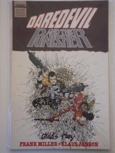 9780871353511: Daredevil Punisher: Child's Play