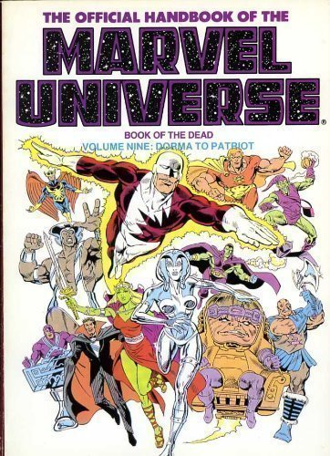 9780871353535: The Official Handbook of the Marvel Universe: Book of the Dead : Dorma to Patriot
